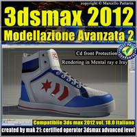 3ds max 2012 Modellazione Avanzata vol 18 CD Front