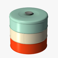 3d model cookie jar