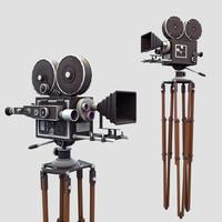 3d classic movie camera