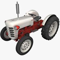 3d model tractor trailer