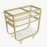3d model ikea kitchen cart