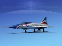 f-102 convair air force 3d dxf