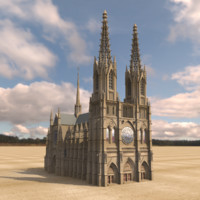 3ds gothic cathedral