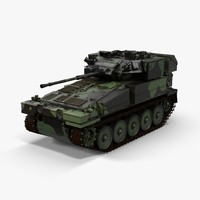 3d model fv107 scimitar