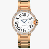 Cartier le ballon bleu red gold diamond