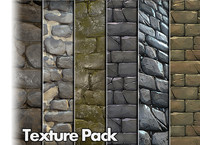 Stone Wall Texture Pack 01