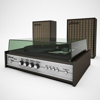 Turntable Akords Stereo