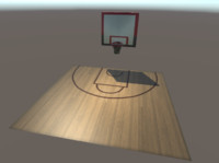 basketball field ring 3ds free
