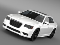 3ds max chrysler 300s 2013
