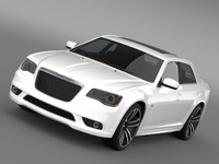 3d model chrysler 300 srt8 core