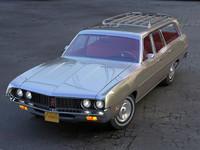 3d torino 1971 wagon model