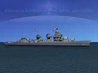 3dsmax anti-aircraft fletcher class destroyers