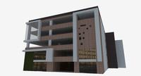 parking building 3d model