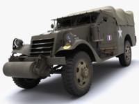 max m3a1 scout car