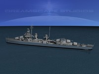 3ds anti-aircraft fletcher class destroyers