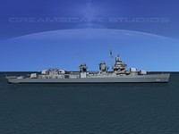 3d max anti-aircraft fletcher class destroyers