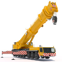 mobile crane liebherr ltm 3d max