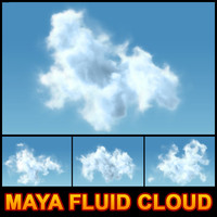 maya fluid cloud