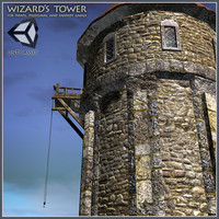 3dsmax level games tower