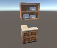 kitchen closer 3d model