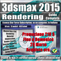 3ds max 2015 Rendering Guida Completa Subscription