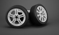 3ds max wheels