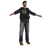 dea agent 3d model