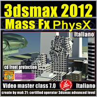 3ds max 2012 Mass Fx Vol 7.0 Cd Front