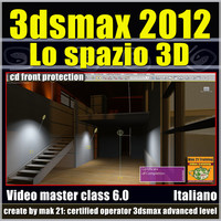 3ds max 2012 Lo Spazio 3D vol 6.0 CD FRONT