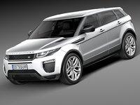 3d 2016 5-door range model