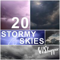 20 Stormy VIShopper Skies
