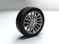 VW Rim Spokes