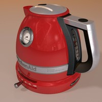 modelled kettle 3d 3ds