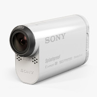 3d model sony hdr-as100v