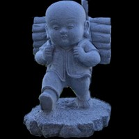 buddha kid 3d model