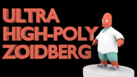 high-poly zoidberg 3d 3ds