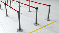 cinema4d barrier pole