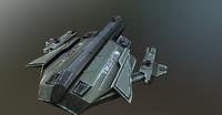 3d model firefly