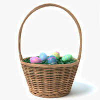 3d easter basket