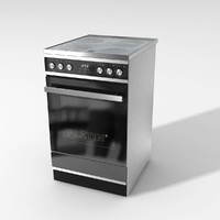 3d model electric stove