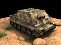 army tanker 3d model