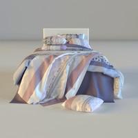 3d max bed linen