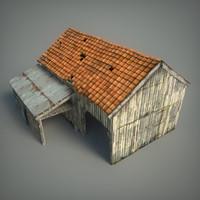 old barn 3d ma