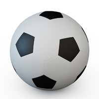 football ball 3d 3ds