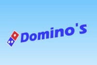 3d model sign logo domino s