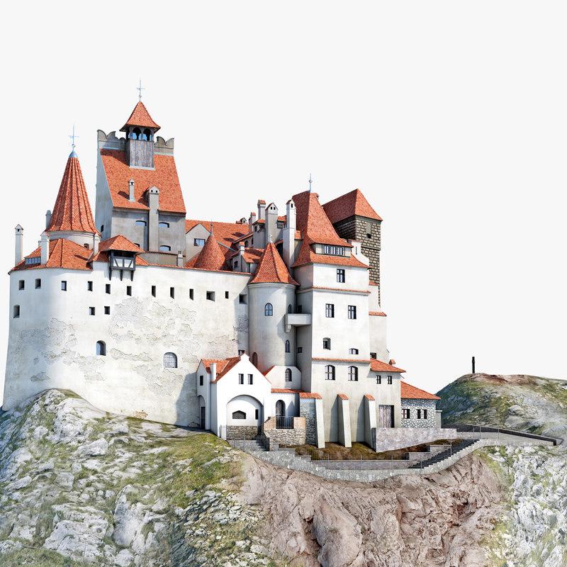Dracula Castle Bran 3d model 000.jpg