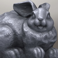 maya rabbit sculpture