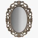 Oval Mirror 3D models