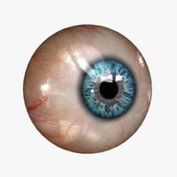 realistic human eye 20 3d max