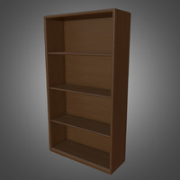 book shelf - ready 3d model